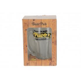 Szklany kufel BEER PUB 480ml