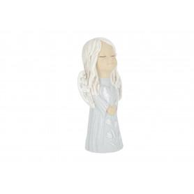Ceramika figurka Emilka z sercem