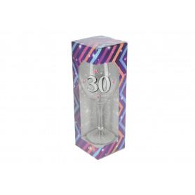 Szklany kielich do wina BROKAT XL 640ml
