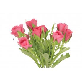 Kwiaty sztóczne bukiet róża pąk x9