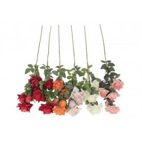 Kwiaty sztuczne róże pojedyncze