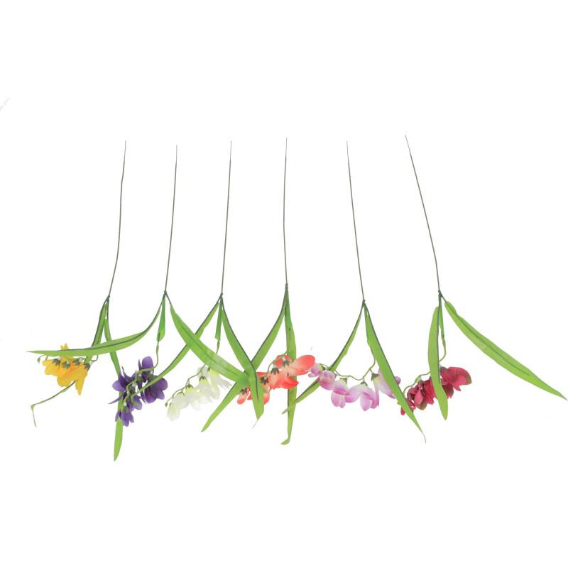 Kwiaty sztuczne pojedy.gałązka frezji