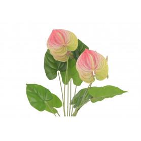 Kwiaty sztuczne bukiet anturium