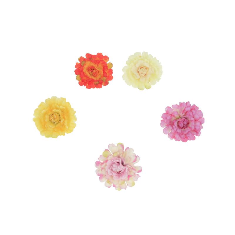 Kwiaty sztuczne cynia wyr.