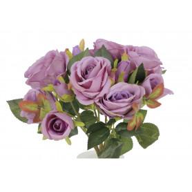 Kwiaty sztuczne bukiet róża pąk