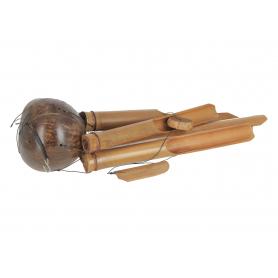 Drewniany gong kokos 40cm