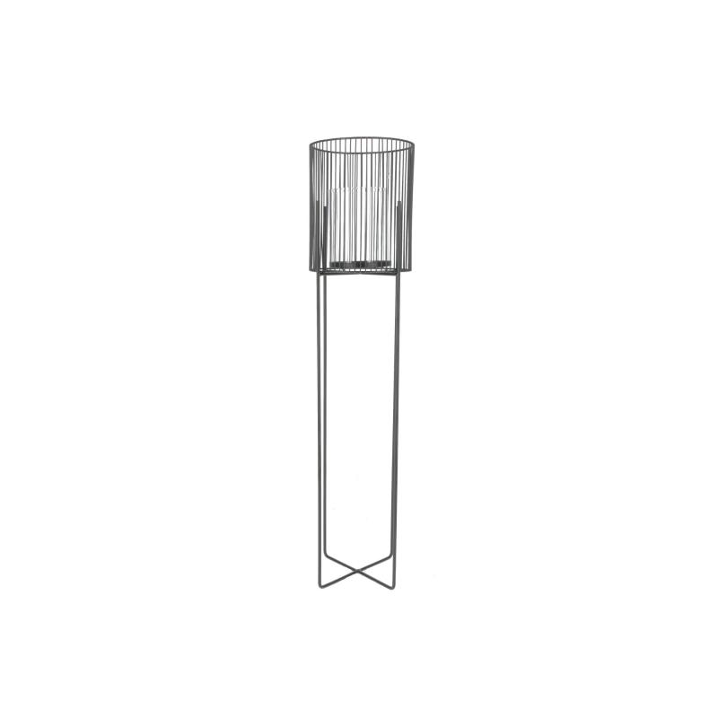 CERDIC Świecznik L 19x19x83cm