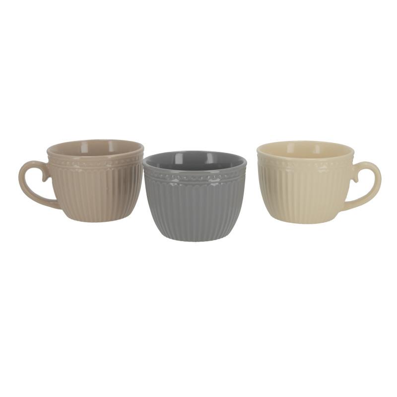 Ceramiczny kubek jumbo retro