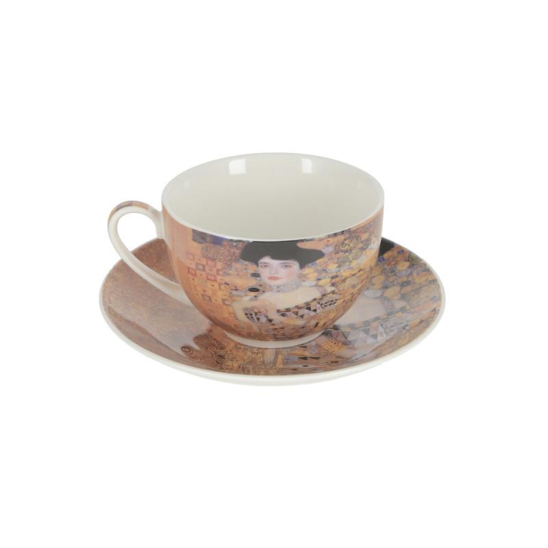 Ceramiczna filiżanka ze spodkiem ADELE