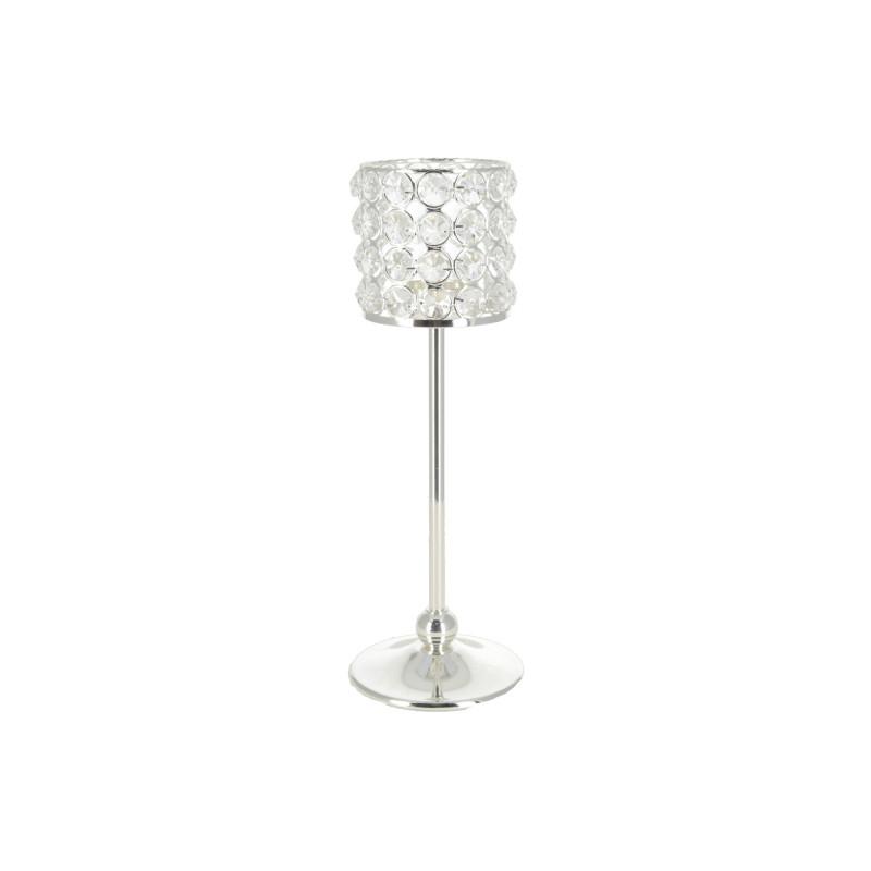 Metalowy świecznik 10x30cm