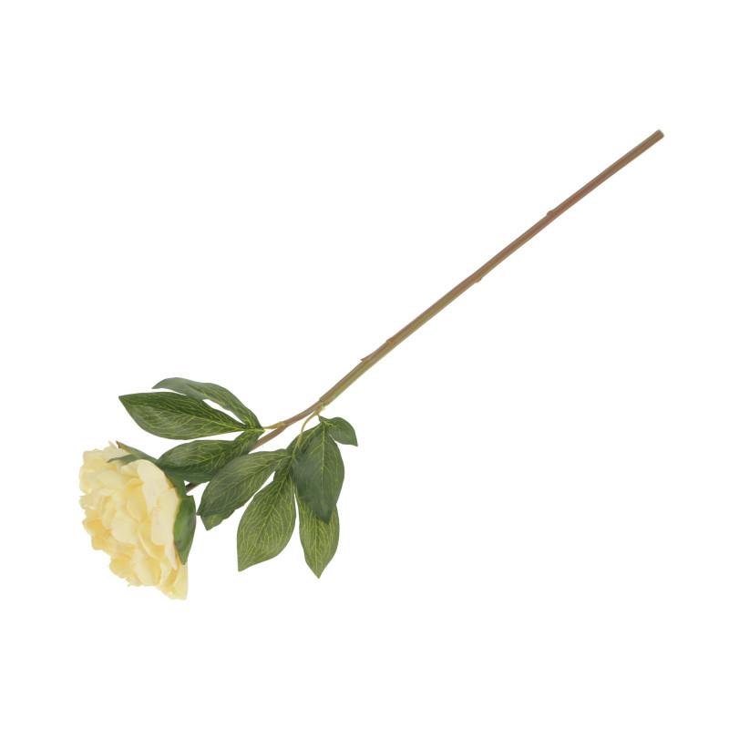 Kwiaty sztuczne peonia gałązka guma