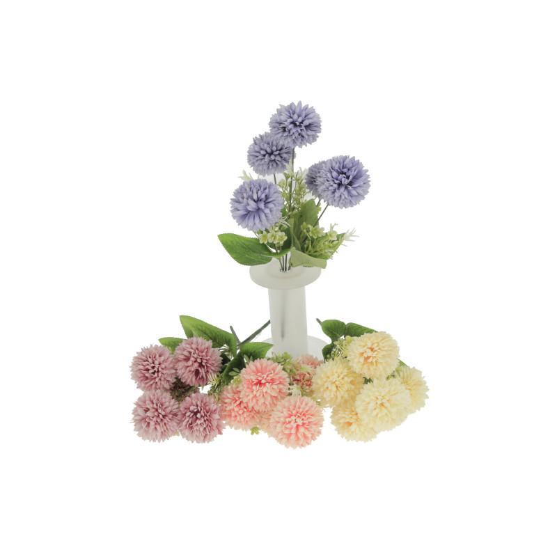 Kwiaty sztuczne chryzantema bukiecik