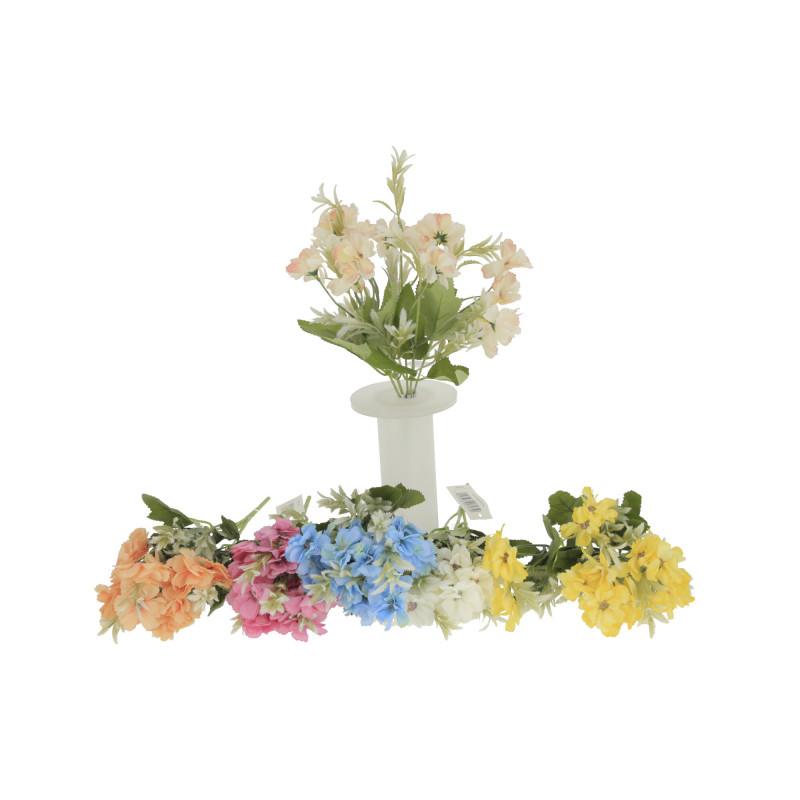Kwiaty sztuczne bukiecik pastelowy