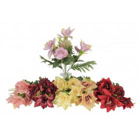 Kwiaty sztuczne bukiet lilia i piwonia