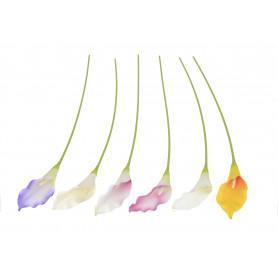 Искусственные цветы калла 75см