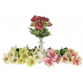 Kwiaty sztuczne bukiet storczyków