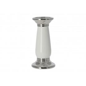 Ceramiczny świecznik 10 x 20 cm