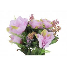 Kwiaty sztuczne bukiet amarylisów