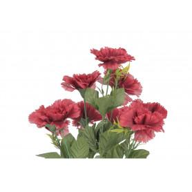 Kwiaty sztuczne bukiet goździków