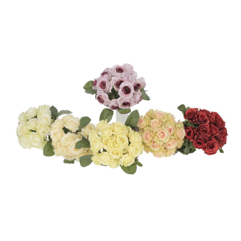 Kwiaty sztuczne bukiety róż