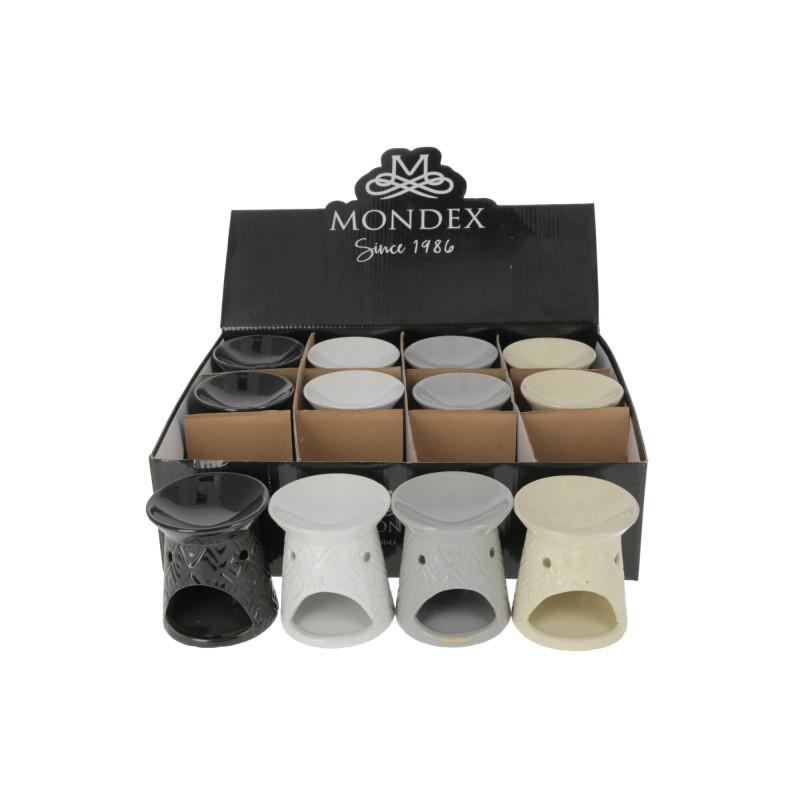 Ceramiczny kominek 8,5x8,5x9,5