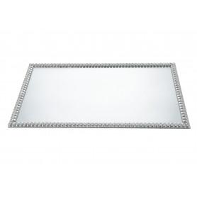Szkło podstawka pod świecę 40x24x1 Margo
