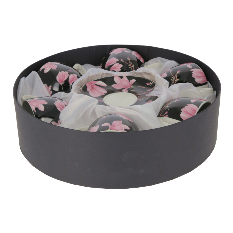 Ceramika kpl. 6 filiżanek 250ml Ayla
