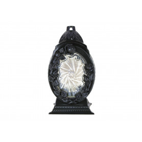 Znicz Lampion Róża kryształ