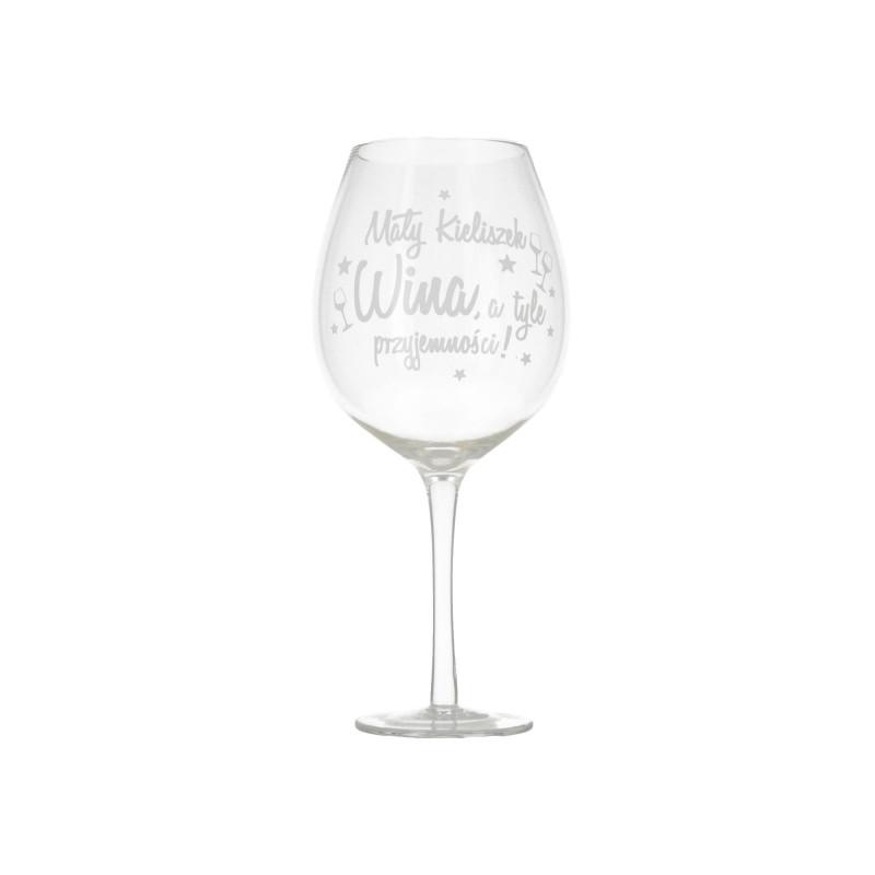 Szklany kieliszek do wina XXL 750ml
