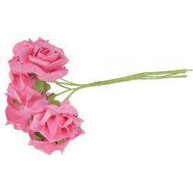 Wiązka piankowych Róż