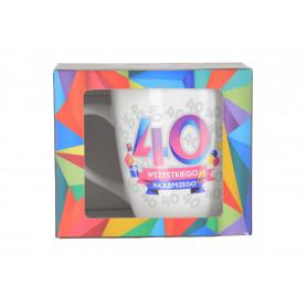 Ceramiczny kubek URO GEOMETRIA 750ml