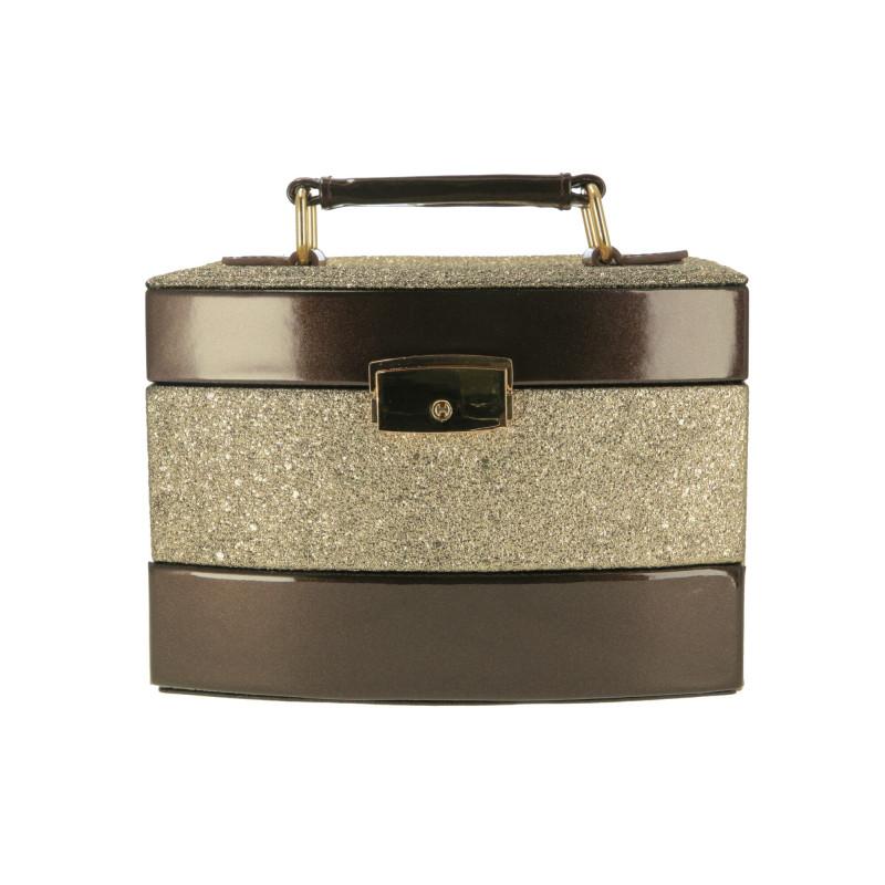 Tw.sztuczne kuferek na biżuterię