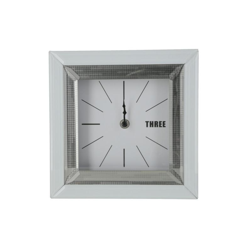 Zegar lustrzany 21x21x5cm