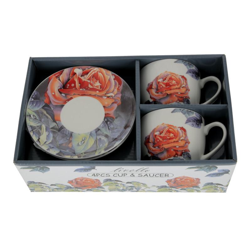 Ceramika filiżanka ze spodkiem 250ml