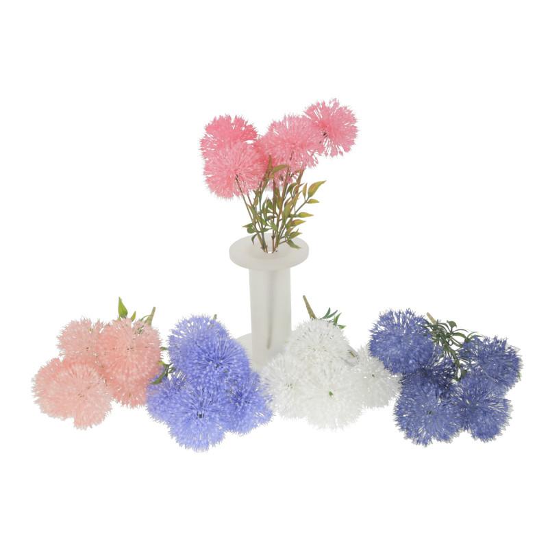 Kwiaty sztuczne bukiet dmuchawiec