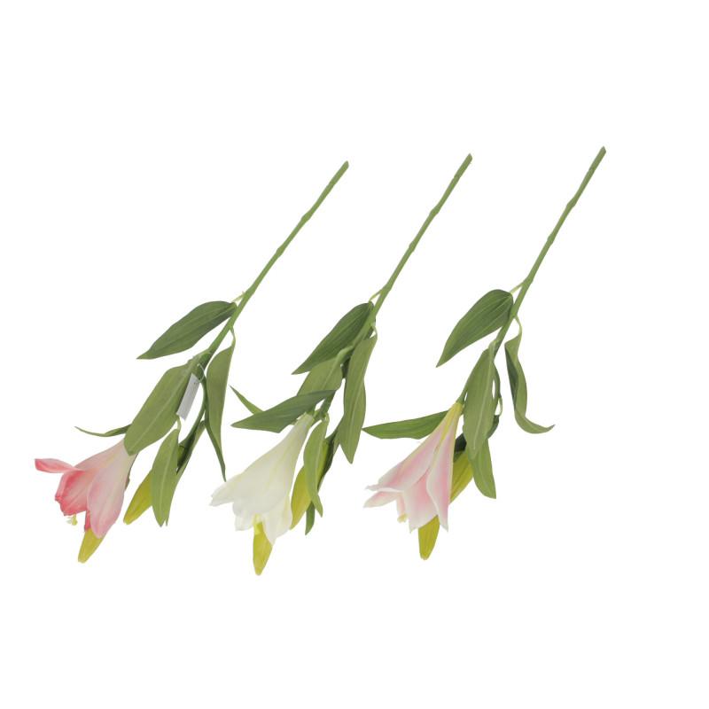 Kwiaty sztuczne gałązka lilii