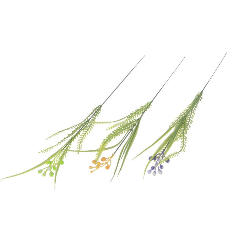 Kwiaty sztuczne dodatek z liśćmi