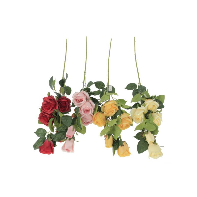 Kwiaty sztuczne gałązka róż
