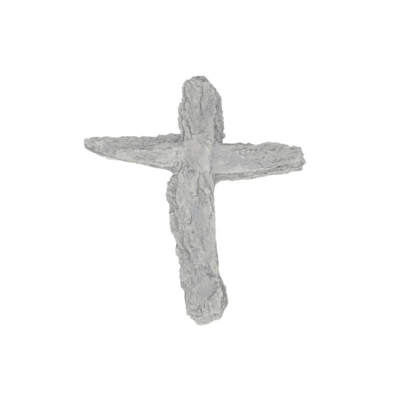 Gipsowy krzyż kora