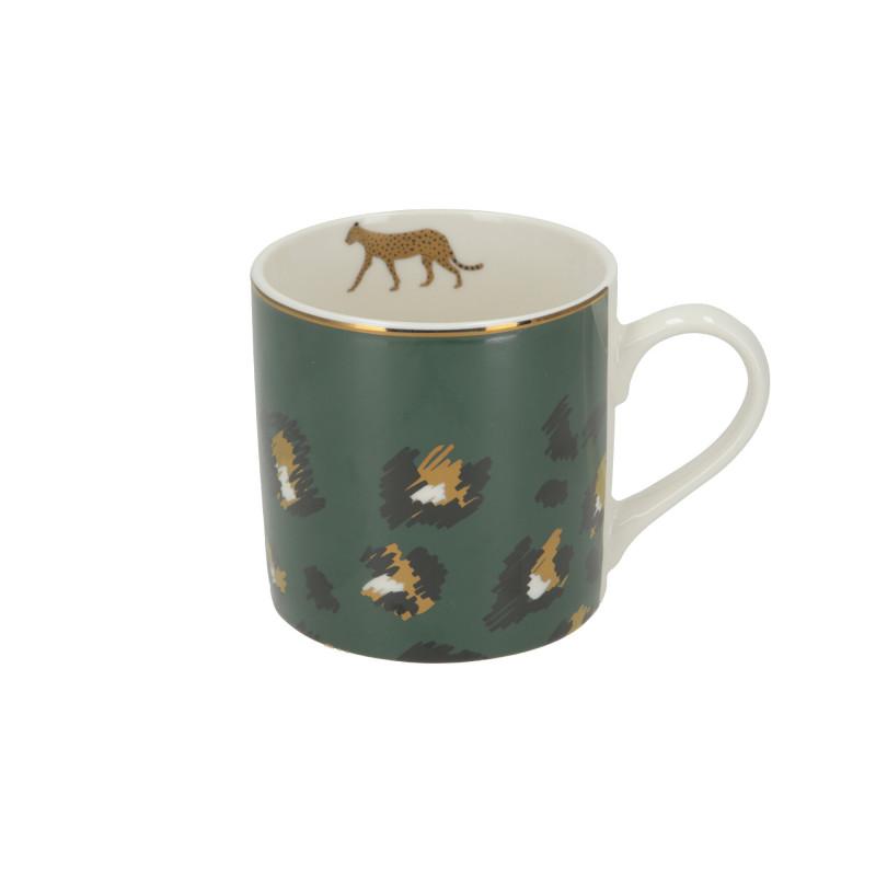 Ceramika kubek Wild Green Panther 400ml
