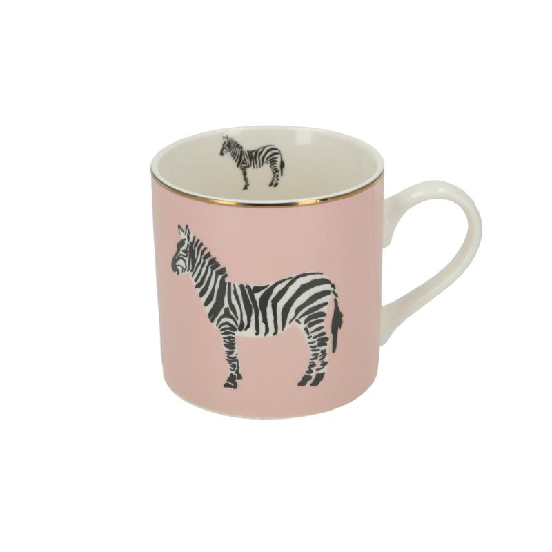 Ceramika kubek Wild Pink Zebra 400ml