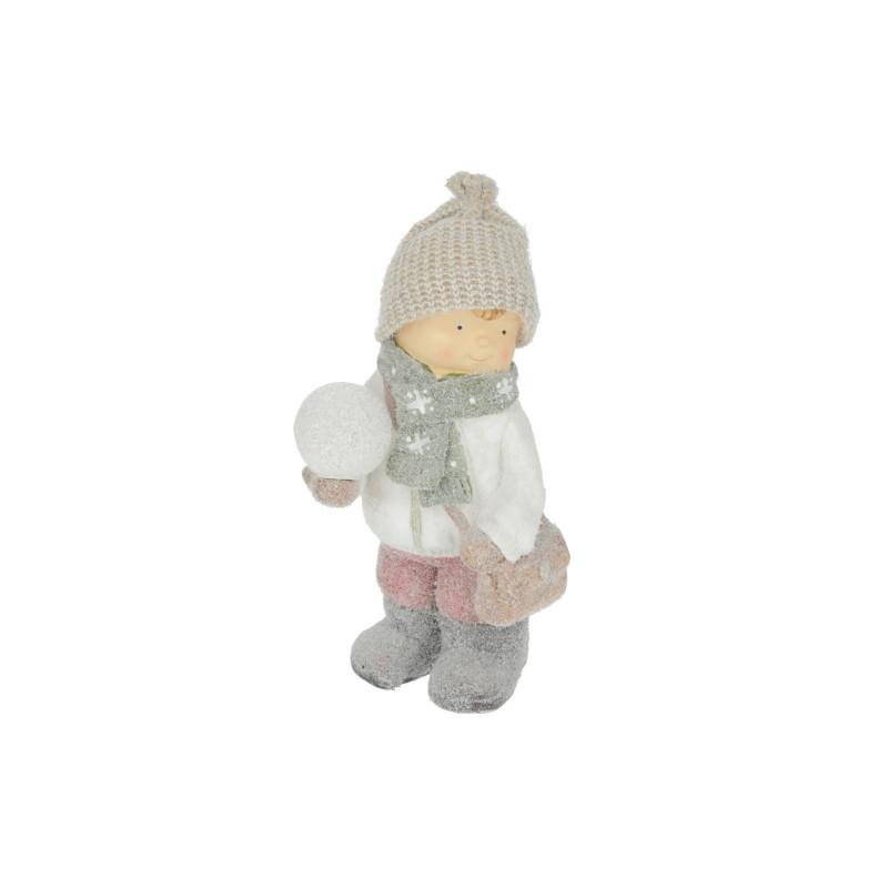 Bożonarodzeniowa figura chłopiec