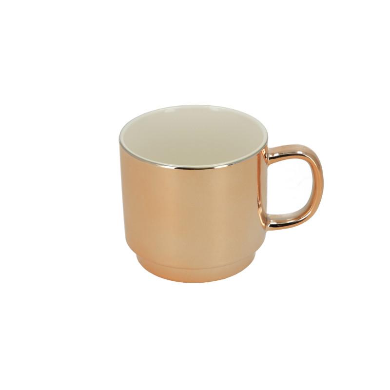 Ceramika kubek Chic Rose Gold