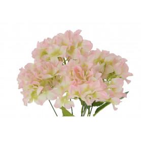Kwiaty sztuczne bukiet hortensji