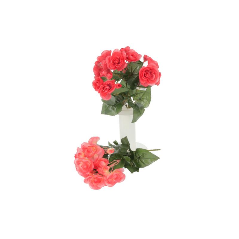Kwiaty sztuczne bukiet begonia