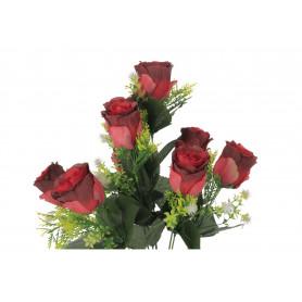 Kwiaty sztuczne bukiet róż i dodatków