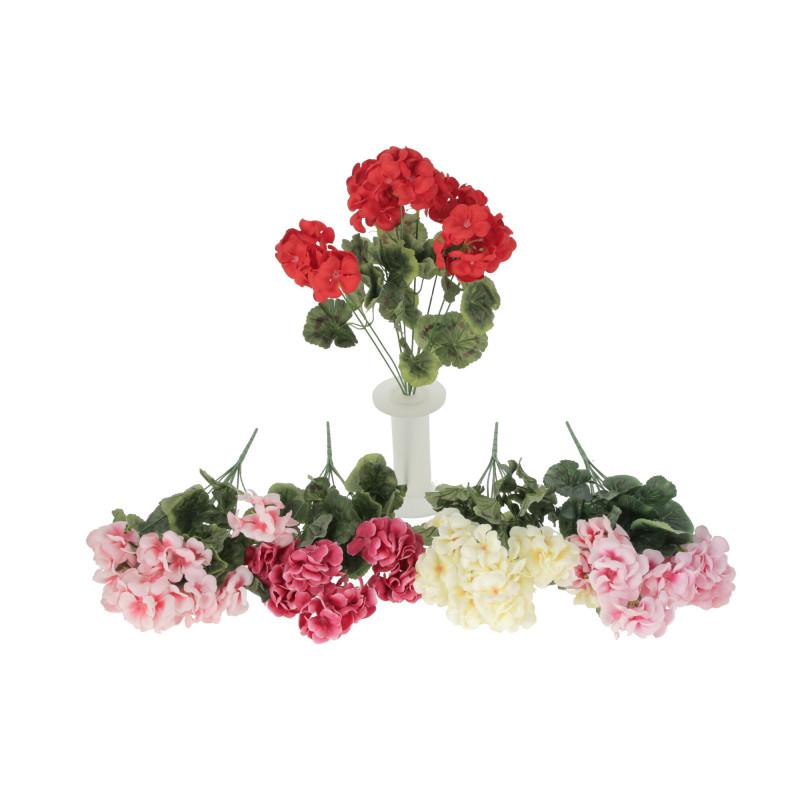 Kwiat sztuczny pelargonia