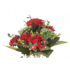Kwiaty sztuczne bukiet dalia