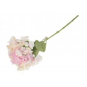 Kwiaty sztuczne hortensja pojedyńcza