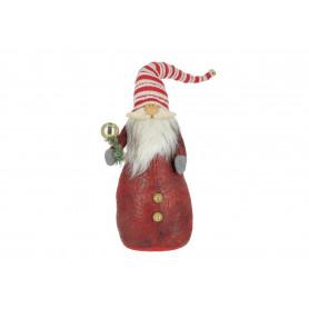 Bożonarodzeniowy mikołaj tekstylny mały